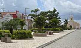 São José do Seridó - Praça São José Centro por Walter Leite