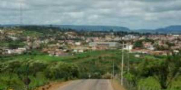 Vista da cidade da divisa do estado do RN com o CE, Por Rangel Vieira