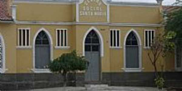 Centro Social Santa Maria em  São Tomé-RN-Foto:Ivanberg