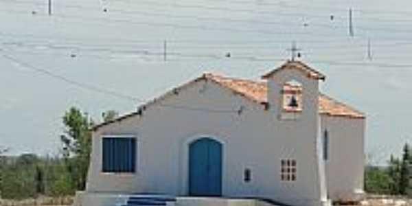 Itiúba-BA-Capela do Lar Santa Maria-Distrito de Rômulo Campos-Foto:José Roberto Sousa