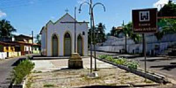 Capela de Santo Anônio em Senador Georgino Avelino-RN-Foto:Wilson Alcaras
