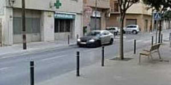 Rua da cidade-Foto:tornadeiros