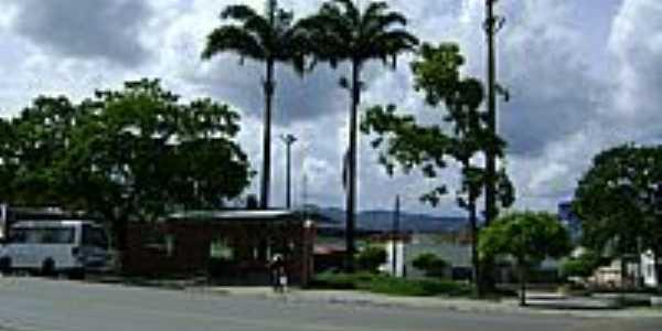 Praça Henrique Brito em Itororó-BA-Foto:mauricioppires