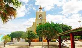 Taboleiro Grande - Taboleiro Grande-RN-Igreja Matriz-Foto:Wilson Alcaras