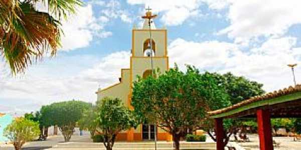 Taboleiro Grande-RN-Igreja Matriz-Foto:Wilson Alcaras