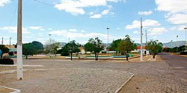 Taboleiro Grande-RN-Praça da Matriz-Foto:Wilson Alcaras