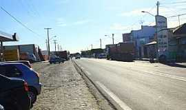 Tangará - Tangará-RN-Rodovia BR-226 cruzando a cidade-Foto:Wilson Alcaras