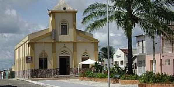 Tangará-RN-Matriz de Santa Terezinha-Foto:magalhães jaime