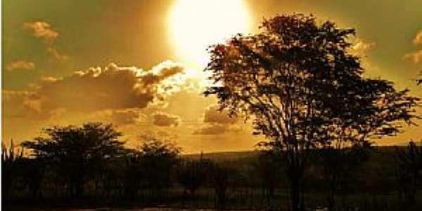 Tangará-RN-Pôr do sol-Foto:Manoel Cícero Figueiredo
