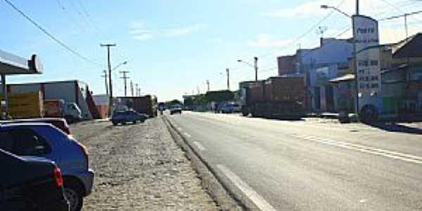 Tangará-RN-Rodovia BR-226 cruzando a cidade-Foto:Wilson Alcaras