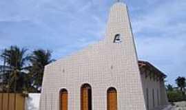 Tibau - Matriz de Santa Terezinha do Menino Jesus-Foto:Vicente A. Queiroz