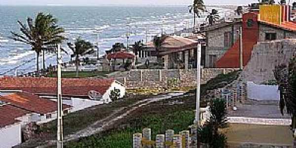 Tibau-RN-Casas da orla-Foto:TIBAU NOTICIAS