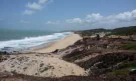 Tibau do Sul - Praia do Chapadão, Por CLAUDESOUZA