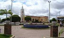 Umarizal - Praça e Igreja do Sagrado Coração de Jesus-Foto:Walter Leite