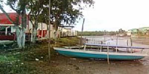 Beira de rio em Ituber�-BA-Foto:Miguel de Guilo