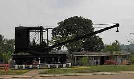 Abunã - Abunã-RO-Antiga Máquina da MadeiraXMamoré-Foto:Altemiro Olinto Cristo