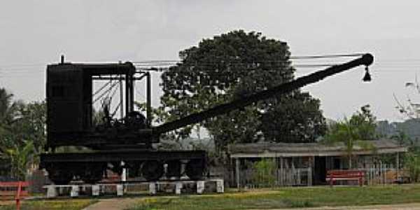 Abunã-RO-Antiga Máquina da MadeiraXMamoré-Foto:Altemiro Olinto Cristo