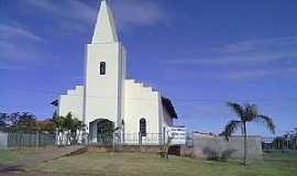 Alto Alegre dos Parecis - Alto Alegre dos Parecis-RO-Igreja Matriz-Foto:www.mapasbrasil.net