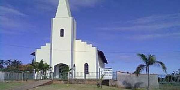 Alto Alegre dos Parecis-RO-Igreja Matriz-Foto:www.mapasbrasil.net
