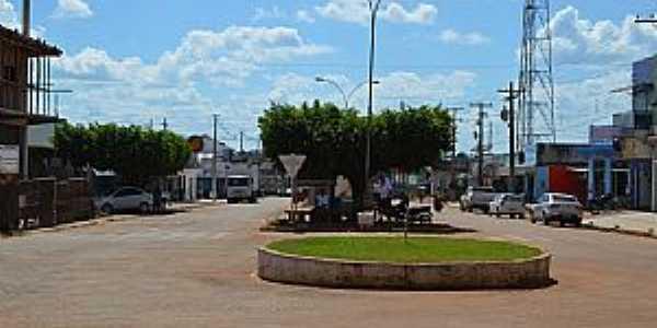 Alto Alegre dos Parecis-RO-Praça central-Foto:Robson Paiva