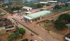 Alto Paraíso - Alto Paraiso-RO-Vista aérea do Terminal Rodoviário-Foto:Mateus Andrade