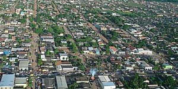 Alto Paraiso-RO-Vista aérea da cidade-Foto:Mateus Andrade