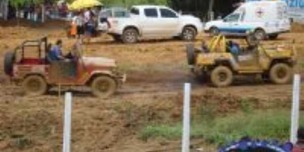 corrida de jeep, Por QUEILA