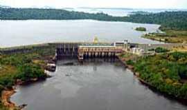 Candeias do Jamari - Usina Hidrelétrica em Candeias do Jamari-Foto:Wikipédia