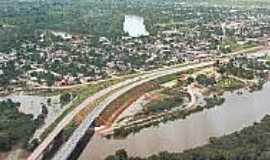 Candeias do Jamari - Vista da cidade de Candeias do Jamari-Foto:folhacapital.