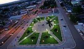 Cerejeiras - Praça cerejeiras - vista aérea