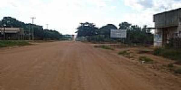 Saída para Corumbiara-Foto:valdecirbairros
