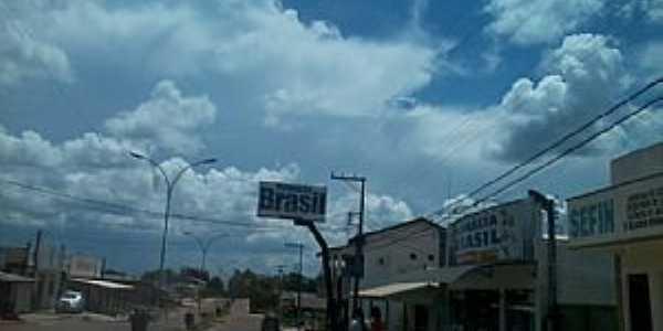Chupinguaia-RO-Avenida principal-Foto:amarildo Varela
