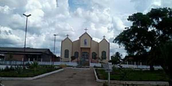 Chupinguaia-RO-Igreja Matriz-Foto:amarildo Varela