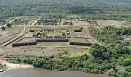 Costa Marques - Costa Marques-RO-Vista aérea do Forte Príncipe da Beira-Foto:silvio santos