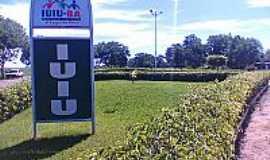 Iuiu - Iuiú-BA-Entrada da cidade-Foto:Wandilson Júnior