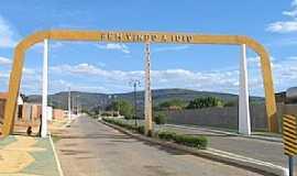 Iuiu - Iuiu-BA-Pórtico de entrada da cidade-Foto:yousearch.co