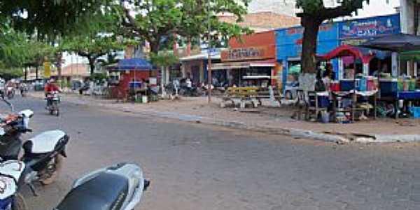 Guajar� Mirim-RO-Avenida de com�rcio-Foto:Julio de Ramos