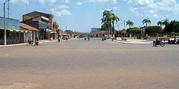 Guajará Mirim-RO-Praça Germán Busch-Foto:Julio de Ramos