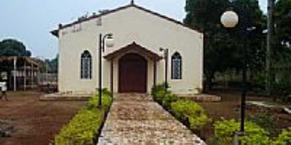 Igreja Católica de Itapuã do Oeste-Foto:isacsp