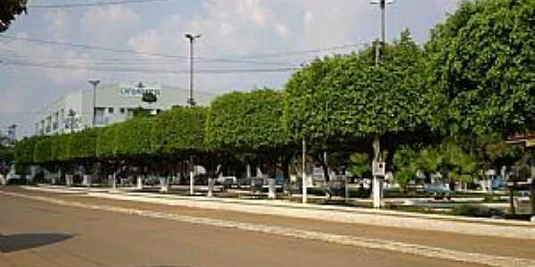 Jaru-RO-Praça da Rua Florianópolis-Foto:Tiago Souza