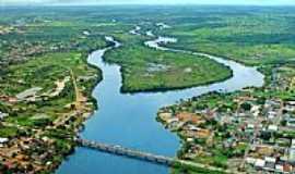 Ji-Paraná - Vista aérea da Ilha do Coração em Jí-Paraná-RO-Foto:Bruno_jipa