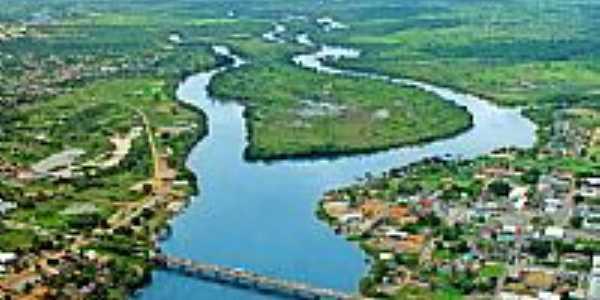 Vista aérea da Ilha do Coração em Jí-Paraná-RO-Foto:Bruno_jipa