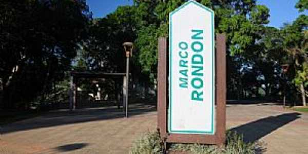 Marco Rondon-RO-Ponto da Tríplice Fronteira-Foto:cmexploreramazonia