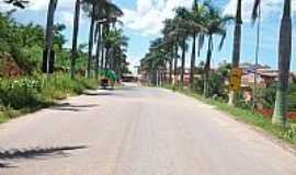 Jaborandi - Jaborandi-BA-Entrada da cidade-Foto:edmilsonsilveira