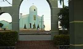 Jaborandi - Jaborandi-BA-Matriz de Santo Antônio entre os arcos-Foto:namoralcomigo