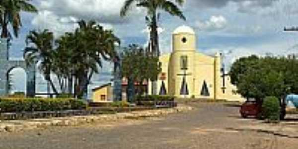 Jaborandi-BA-Matriz de Santo Antônio-Foto:Sinval - DF (sin-df)