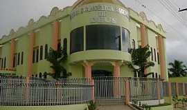 Nova União - Templo Central das Assembleia de Deus em Nova União, RO - por Eliel Vieira