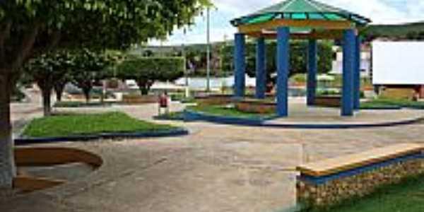 Jacaraci-BA-Praça Luis Eduardo Magalhães-Foto:Anderson de Oliveira