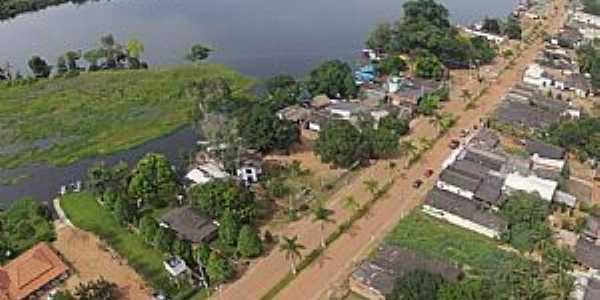 Imagens da cidade de Pimenteiras - RO