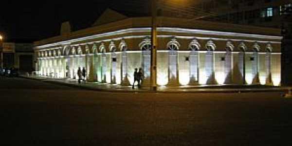 Porto Velho-RO-Vista noturna do Mercado Cultural-Foto:Francisco Edson Mendon�a